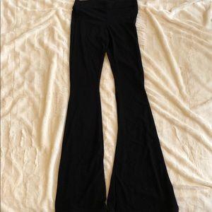 Elastic Brandy Melville bell bottom pants